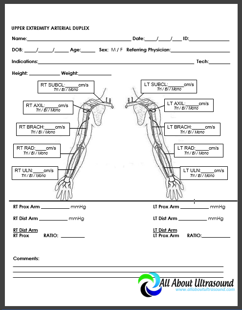 carotid ultrasound worksheet